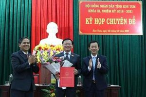 Kon Tum: Có tân Chủ tịch HĐND và UBND