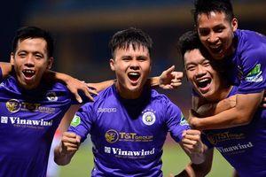 Quang Hải ghi bàn phút 90, Hà Nội FC lên ngôi đầu V-League 2020