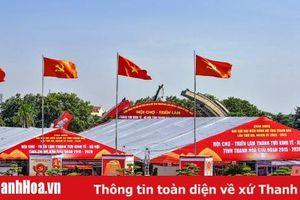 Sẵn sàng cho lễ khai mạc Triển lãm thành tựu kinh tế - xã hội tỉnh Thanh Hóa giai đoạn 2015-2020