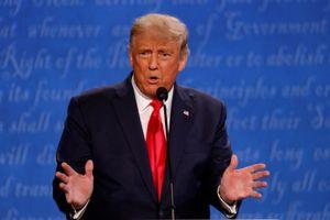 Tổng thống Trump tỏ ý hài lòng về buổi tranh luận cuối cùng