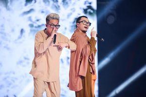 Điểm sáng 'King Of Rap' tập 12: RichChoi và Hà Lê trình diễn Rap trên nền nhạc Trịnh