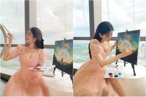 Bị antifan tố vẽ tranh làm màu, hot girl Sài thành nói gì?