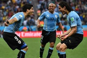 Cặp tiền đạo Cavani và Suarez: Niềm tự hào của người Salto