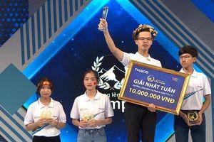 Nam sinh Hà Nội lập kỉ lục mới tại Đường lên đỉnh Olympia