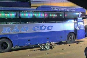 Xe khách lấn làn tông nam thanh niên đi xe máy tử vong