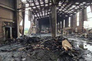 Bắc Ninh: Hai người thương vong trong vụ nổ lò hơi