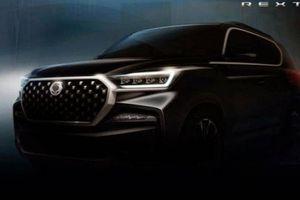 Ssangyong Rexton 2021 sắp ra mắt tại Hàn Quốc, đối thủ của Hyundai SantaFe