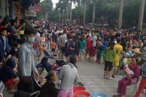 Hà Nội: Cháy tầng hầm chung cư Đại Thanh, cư dân hốt hoảng chạy thoát thân