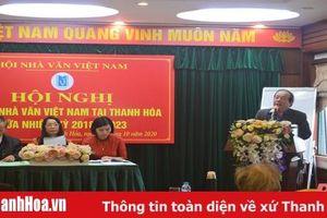 Hội nghị Chi hội Nhà văn Việt Nam tại Thanh Hóa giữa nhiệm kỳ 2018 – 2023