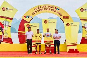Giải xe đạp VTV Cúp Tôn Hoa Sen 2020 thi đấu chặng 2 nội dung cá nhân tính giờ
