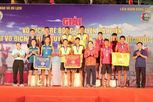 Giải vô địch bóng chuyền bãi biển 2x2 đồng đội quốc gia: Sanest Sanna Khánh Hòa giành cú đúp vô địch