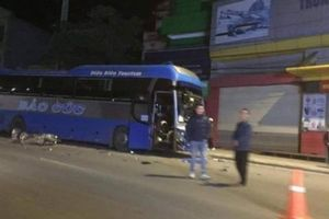Tai nạn ở Sơn La: Xe khách lấn làn đâm trực diện xe máy, 1 người tử vong