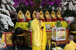 Lâm Đồng : Chư Tăng Ni cầu nguyện, ủng hộ miền Trung