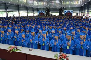 Học viện Phật giáo VN tại TP.HCM : Trang trọng lễ tốt nghiệp Cử nhân, Thạc sĩ Phật học