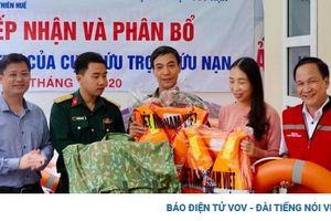 Thừa Thiên Huế phân bổ hàng hóa hỗ trợ nhân dân khắc phục hậu quả lũ lụt