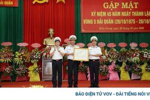 Kiên Giang: Vùng 5 Hải quân - 45 năm giữ gìn biển đảo Tây Nam