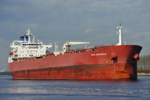 Tàu chở dầu đến Anh bị chiếm quyền điều khiển