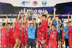 U15 PVF đăng quang ngôi vô địch