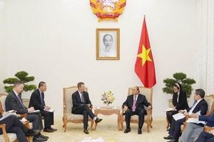 Tổng giám đốc Cơ quan phát triển tài chính quốc tế Mỹ thăm Việt Nam