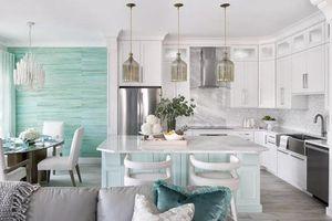 7 ý tưởng decor phòng màu ngọc lam đẹp thanh lịch, tín đồ yêu màu xanh không nên bỏ qua