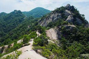 Cảnh quan trên đỉnh ngọn núi được ví như ''thiên đường đi bộ đường dài''