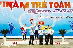 Giải vô địch trẻ vovinam toàn quốc 2020: Đồng Nai xếp hạng ba toàn đoàn