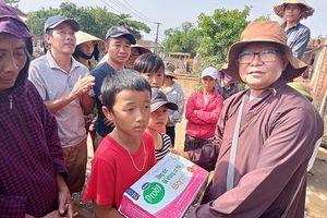 Các hoạt động cứu trợ đồng bào tại miền Trung