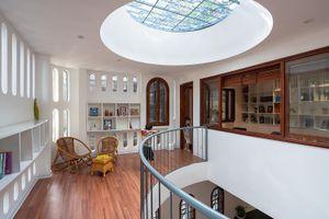 Ngôi nhà được thiết kế như thư viện nhỏ