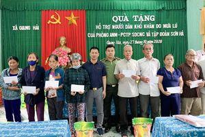 Sơn Hà ủng hộ người dân chịu thiệt hại do mưa lũ tại Thừa Thiên Huế