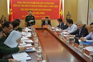 Quân đội nỗ lực, chủ động áp dụng hệ thống quản lý chất lượng theo tiêu chuẩn quốc gia ISO-9001