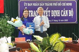 Bà Phạm Thị Thúy Hằng làm Phó Chủ tịch UBND quận 3