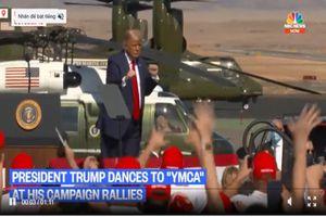 Điệu nhảy lắc lư của Tổng thống Trump