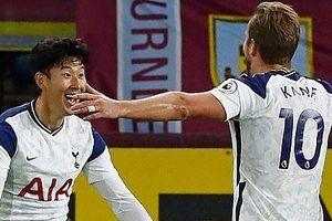 Ngoại hạng Anh: Son Heung Min và Harry Kane 'song kiếm hợp bích', Tottenham vượt Burnley