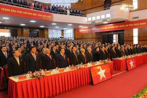 Khai mạc Đại hội đại biểu Đảng bộ tỉnh Thanh Hóa lần thứ XIX