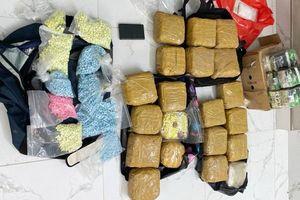 TP HCM: Triệt phá đường dây ma túy 'khủng', thu hơn 100kg ma túy