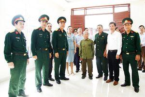 Uông Bí: Khánh thành nhà tình nghĩa cho thương binh