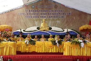 Lào Cai : Khánh thành, bổ nhiệm trụ trì thiền viện Trúc Lâm Đại Giác