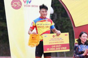 Trần Tuấn Kiệt về Nhất chặng 4 giải Xe đạp VTV 2020