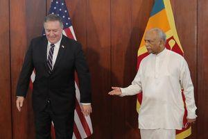 Đến Sri Lanka, ngoại trưởng Mỹ gọi Trung Quốc là 'kẻ săn mồi'