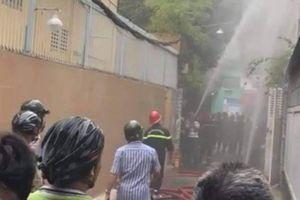 Người phụ nữ chết cháy nghi bị sát hại