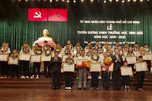TP Hồ Chí Minh tuyên dương hơn 940 học sinh giỏi