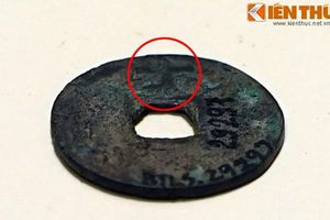 Chi tiết cực lạ ở đồng tiền cổ nhất người Việt phát hành