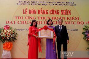 Hà Nội có thêm trường THCS đạt chuẩn Quốc gia mức độ I
