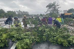 Thừa Thiên Huế: Bão số Molave khiến 4 người bị thương và nhiều nhà dân bị tốc mái