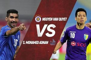 Văn Quyết, Quang Hải đua tranh giải bàn thắng đẹp tại AFC Cup