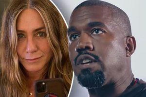 Kanye West mỉa mai Jennifer Aniston vì kêu gọi không bầu cử Tổng thống Mỹ cho anh