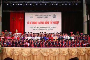Đại học Quốc gia Hà Nội chính thức có Trường Đại học Y Dược trực thuộc