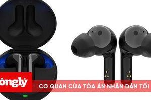 LG ra mắt tai nghe không dây với tính năng khử tiếng ồn tự động