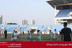 FC VTV lội ngược dòng thành công trước FC Liên quân các nhà báo tại Hà Nội