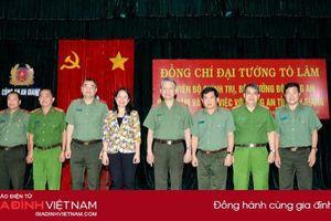 Bộ trưởng Tô Lâm thăm và làm việc với Công an tỉnh An Giang